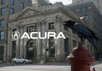 Acura - The Crows - Philippe Collot's  storyboard art