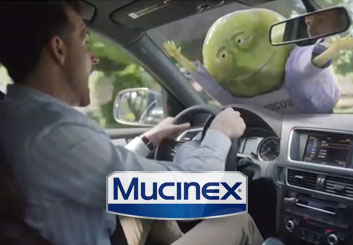 Mucinex 'All Day Misery' - Al Frank's  storyboard art
