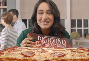 DiGiorno Super Bowl 2018 - Robert Kalafut's  storyboard art