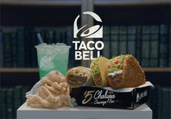Taco Bell - Vinny Dellay's  storyboard art