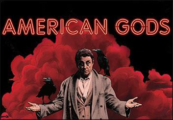 American Gods - Lance Erlick's  storyboard art
