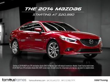 Mazda - Lidat Truong's  storyboard art