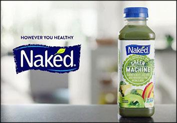 Naked Juice - Krystal Newmark's  storyboard art