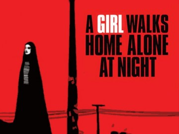 A Girl Walks Home Alone - Michael DeWeese's  storyboard art