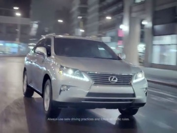 Lexus RX - Phil Babb's  storyboard art