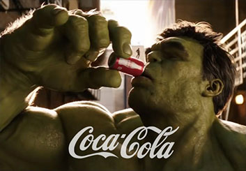 Marvel / Coca Cola - Sean Chen's  storyboard art