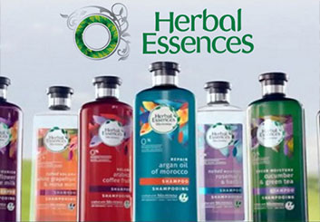 Herbal Essences - Kathy Berry's  storyboard art