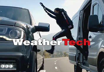 WeatherTech Super Bowl 2017 - Jarid Boyce's  storyboard art