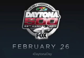 Daytona 500 Super Bowl 2017 - Jarid Boyce's  storyboard art