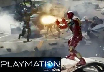 Playmation Marvel - Philippe Collot's  storyboard art