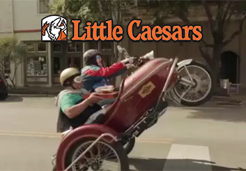 Little Caesars - Charles Ratteray's  storyboard art