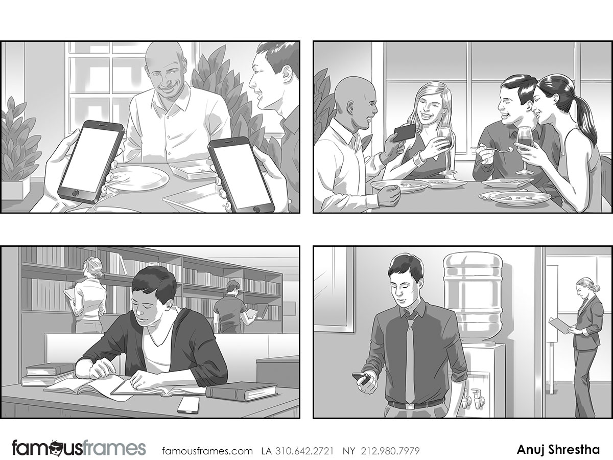 Anuj Shrestha's People - B&W Tone storyboard art (Image #1009_113_1444855063)
