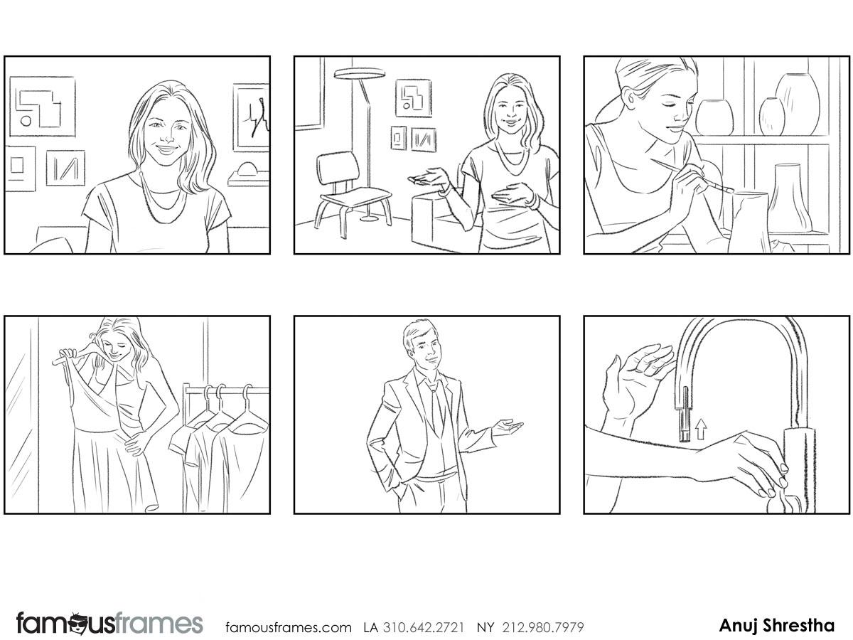 Anuj Shrestha's People - B&W Line storyboard art (Image #1009_114_1398192010)