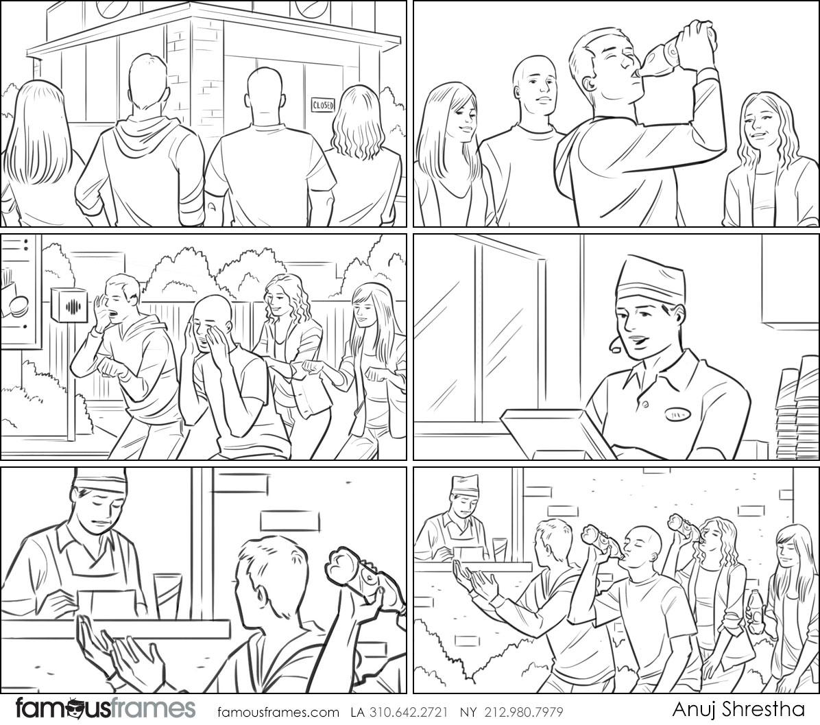Anuj Shrestha's People - B&W Line storyboard art (Image #1009_114_1495156104)