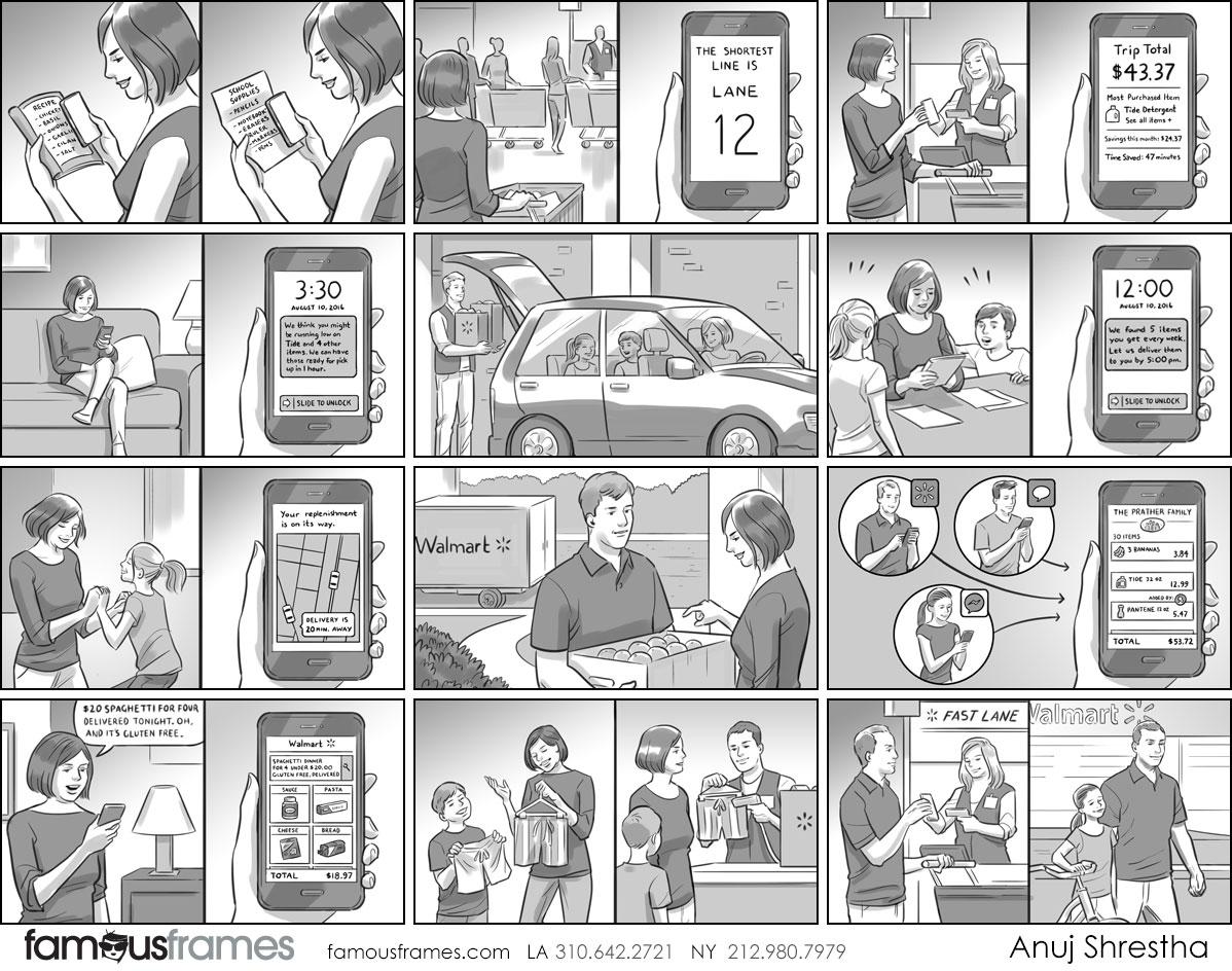 Anuj Shrestha's People - B&W Tone storyboard art (Image #1009_114_1505860114)