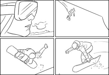 Anuj Shrestha's Shootingboards storyboard art