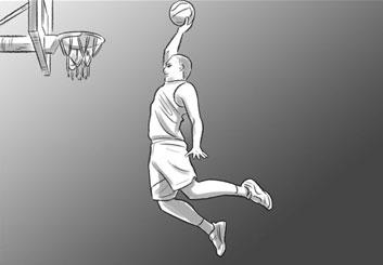 Anuj Shrestha's Sports storyboard art