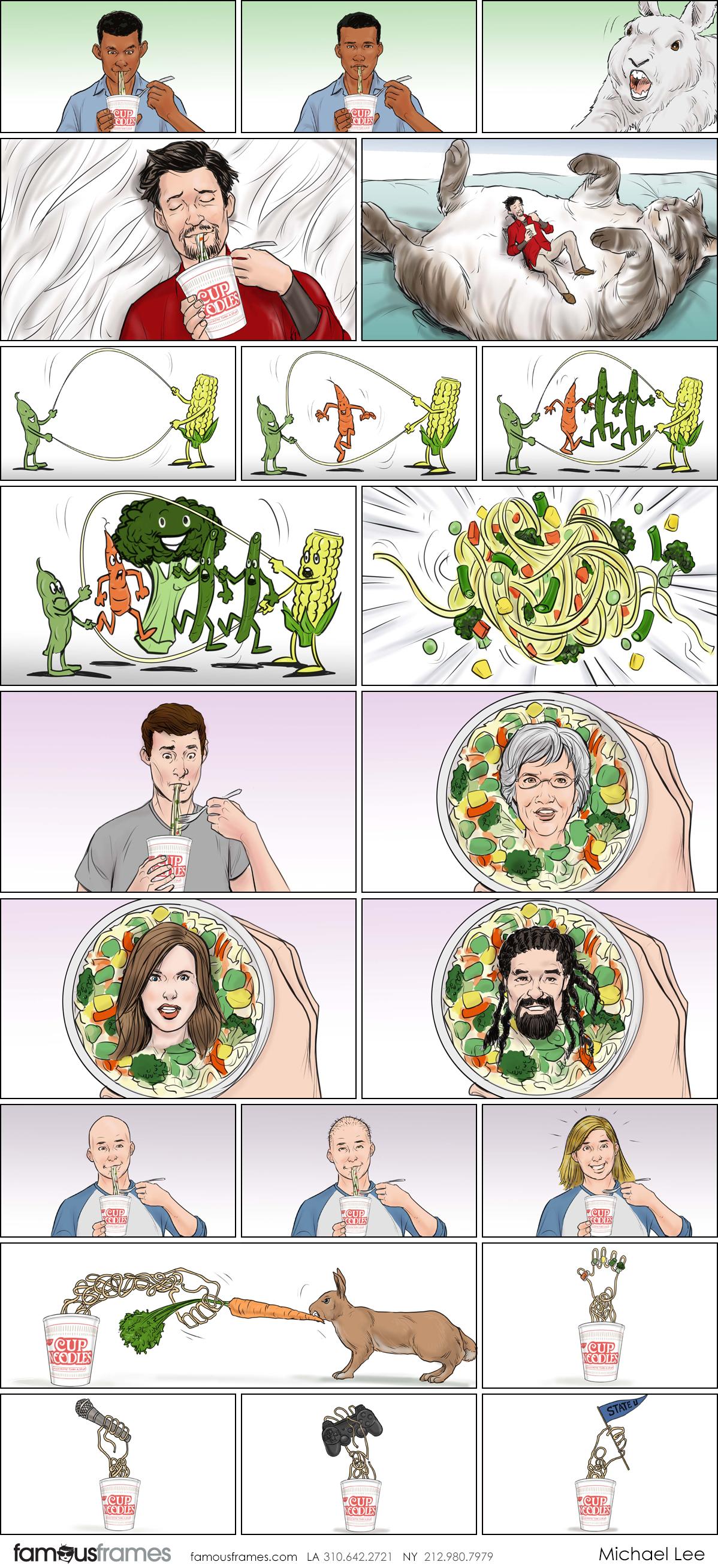 Michael Lee's Food storyboard art (Image #100_8_1567811197)