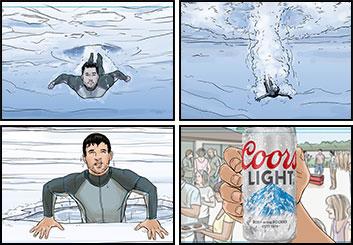 Michael Lee's Shootingboards storyboard art