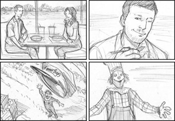 Michael Lee's Shootingboards storyboard art