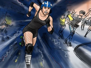 Michael Lee's Sports storyboard art