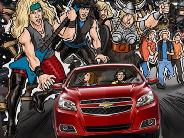 Michael Lee's Vehicles storyboard art