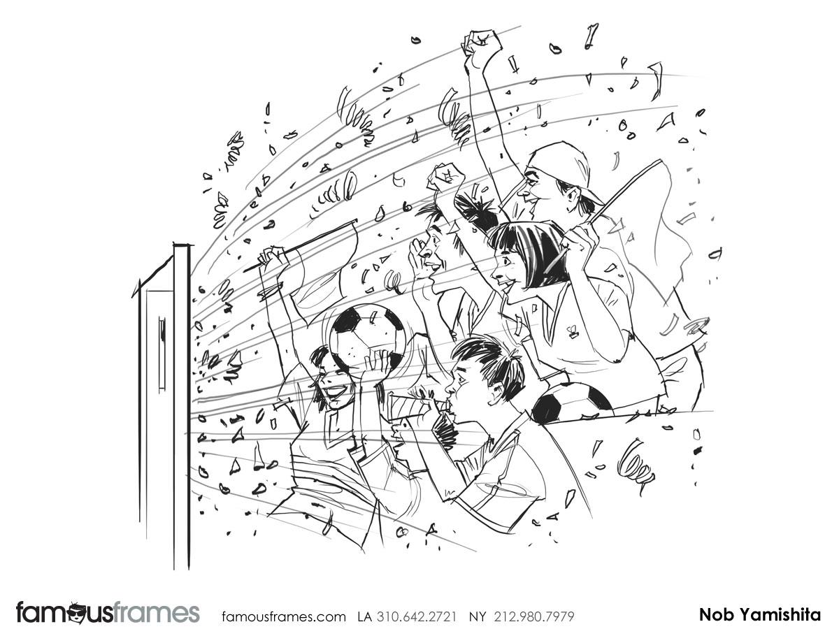 Nob Yamashita's People - B&W Line storyboard art (Image #104_114_1398288616)