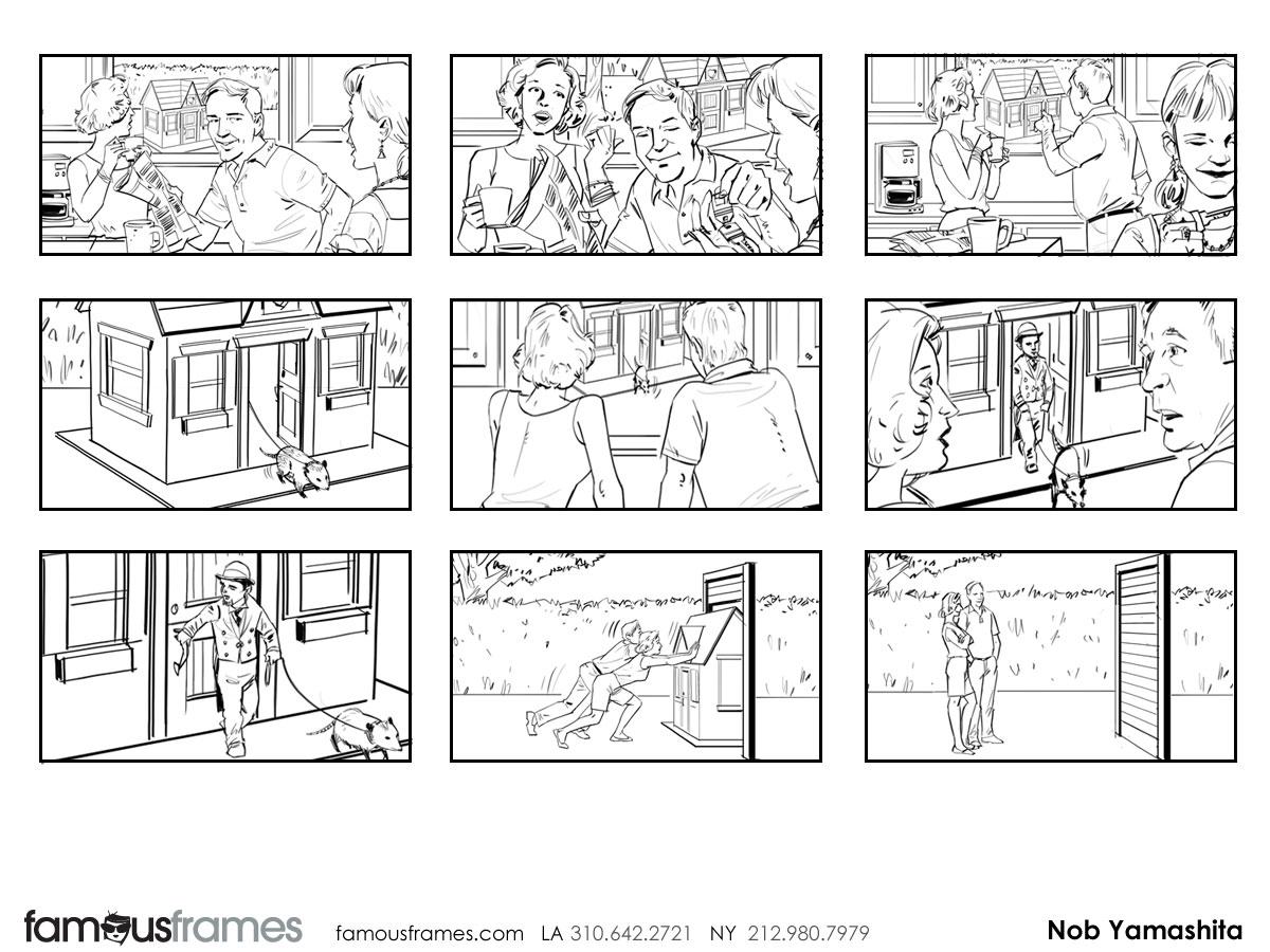 Nob Yamashita's People - B&W Line storyboard art (Image #104_114_1398288663)