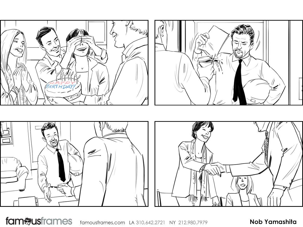 Nob Yamashita's People - B&W Line storyboard art (Image #104_114_1459449453)