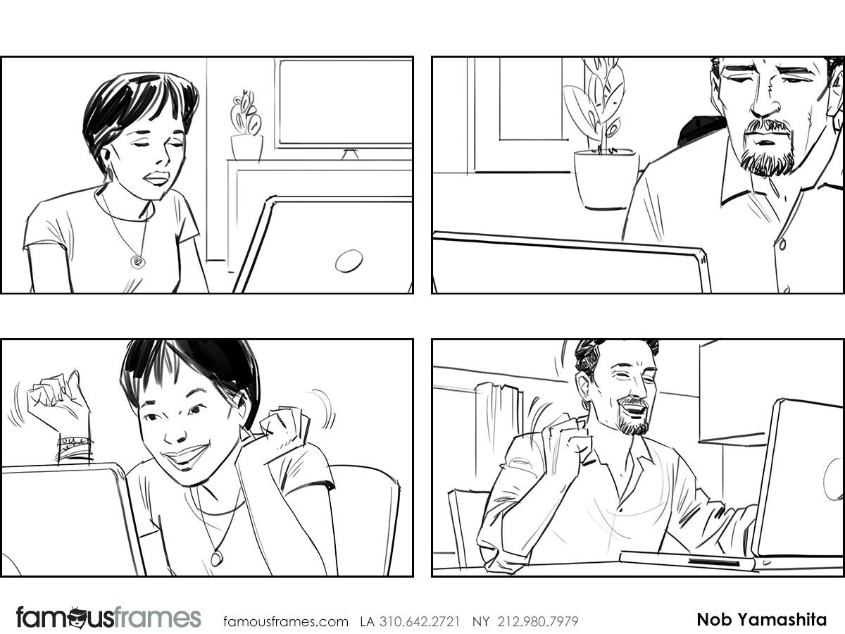 Nob Yamashita's People - B&W Line storyboard art (Image #104_114_1459449469)