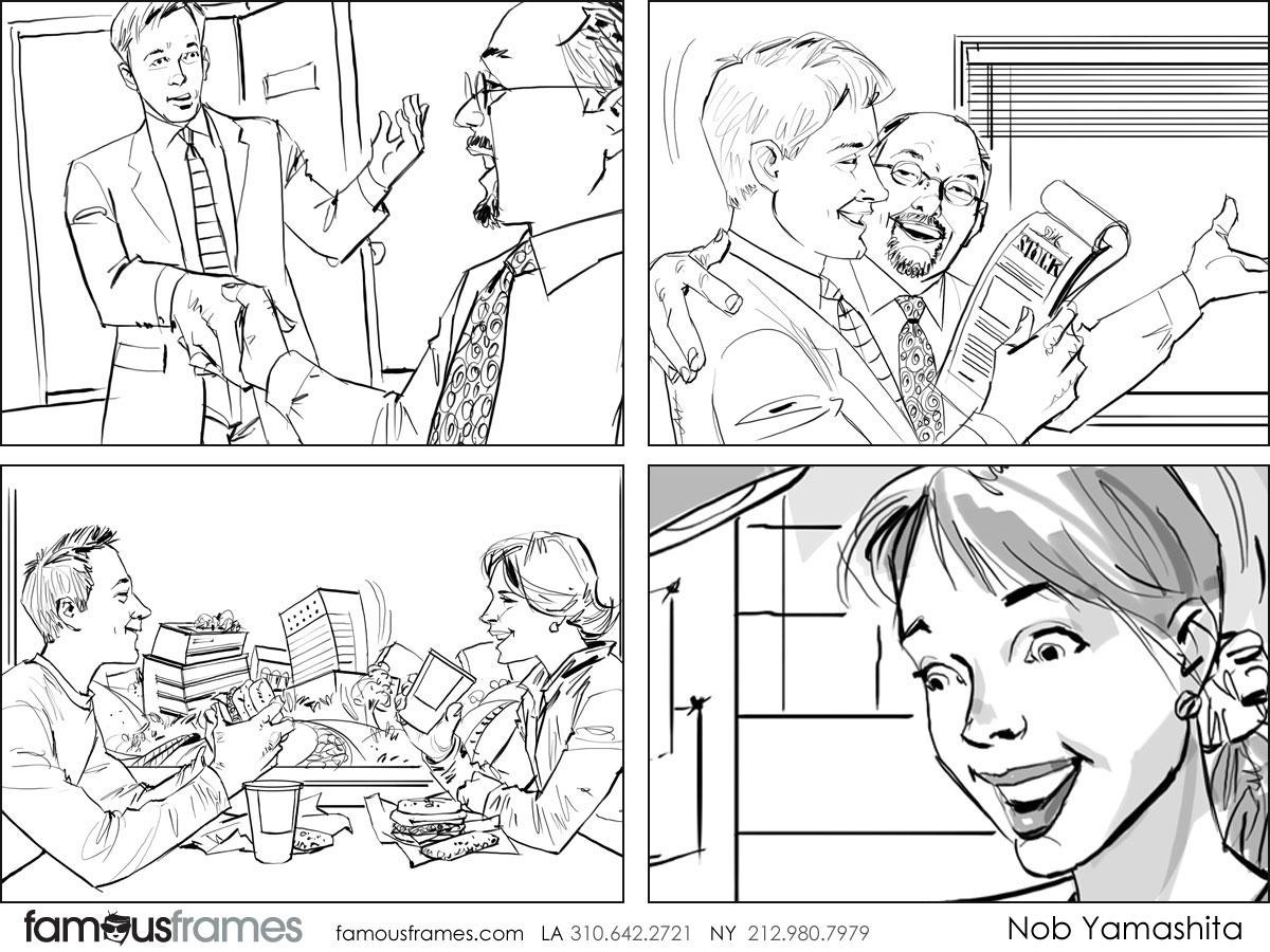 Nob Yamashita's People - B&W Line storyboard art (Image #104_114_1508959057)