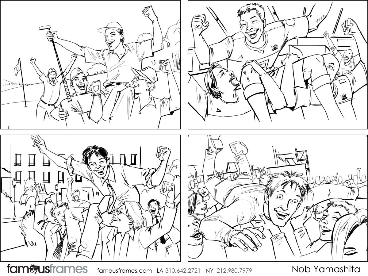 Nob Yamashita's People - B&W Line storyboard art (Image #104_114_1508959426)