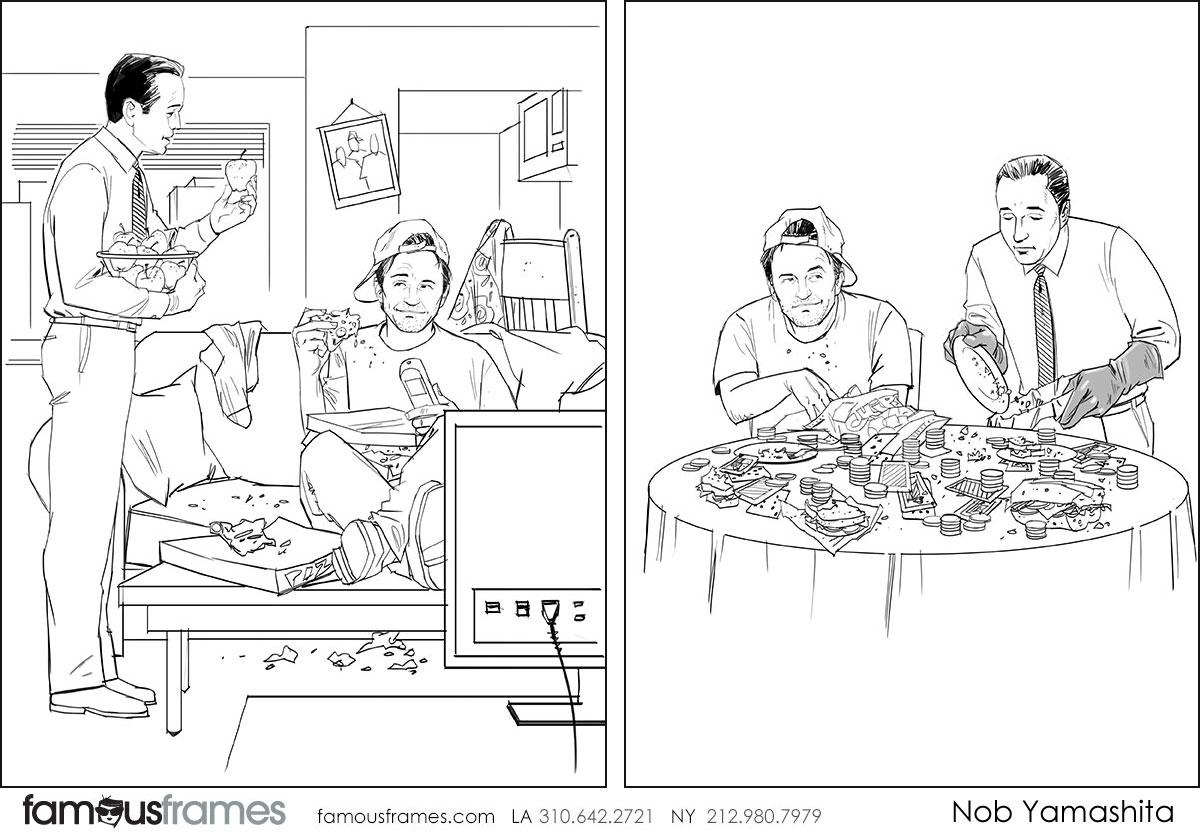 Nob Yamashita's People - B&W Line storyboard art (Image #104_114_1508959675)