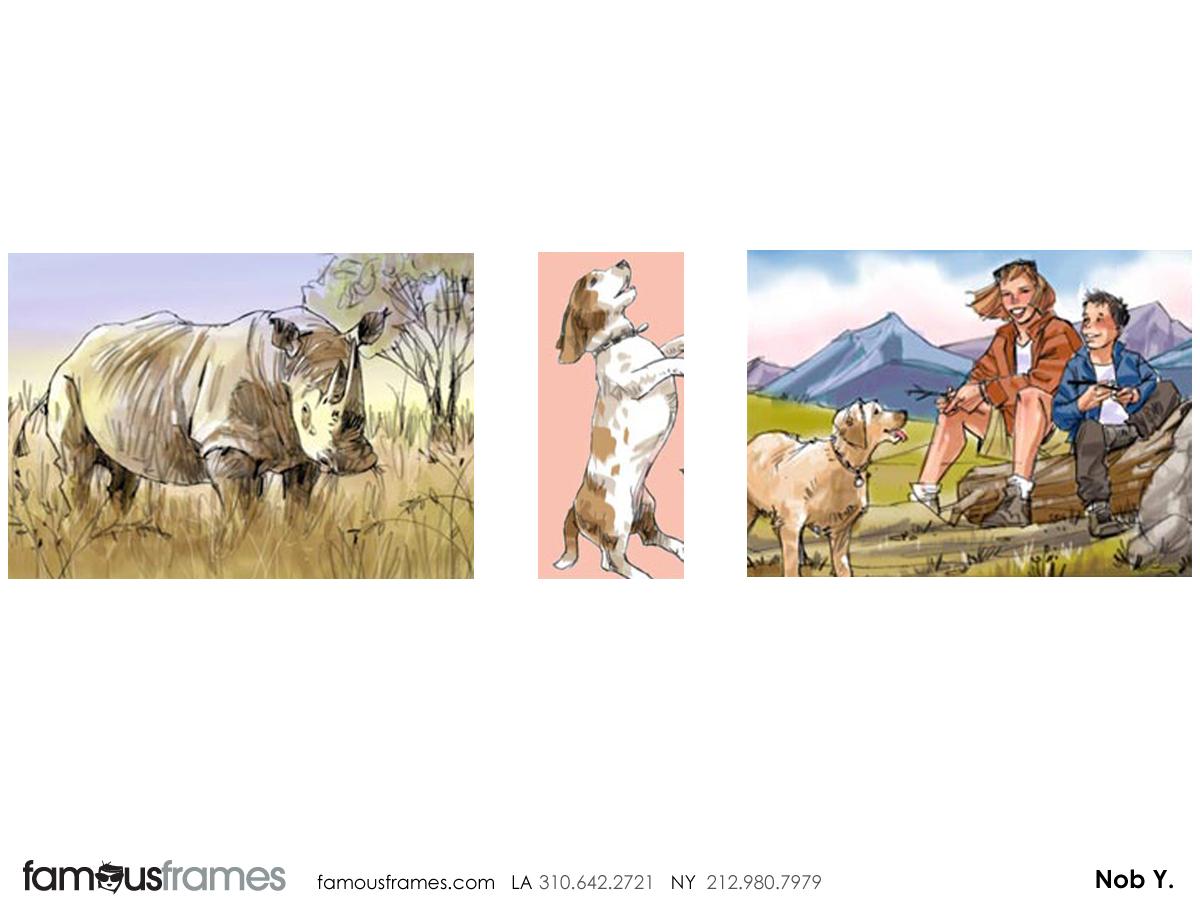 Nob Yamashita's Wildlife / Animals storyboard art (Image #104_6_1326742138)