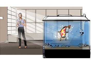 Nob Yamashita's Environments storyboard art