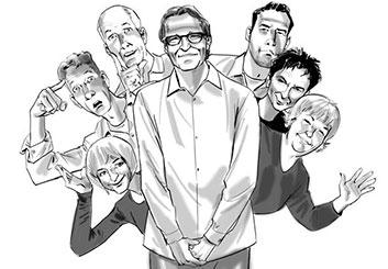 Nob Yamashita's Likenesses storyboard art