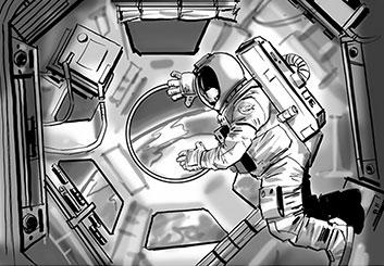 Nob Yamashita's Sci-Fi storyboard art