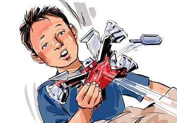 Nob Yamashita's Toys storyboard art