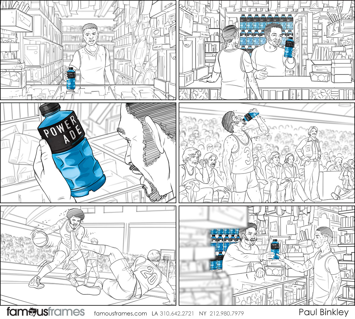 Paul Binkley's People - B&W Line storyboard art (Image #107_114_1560809814)
