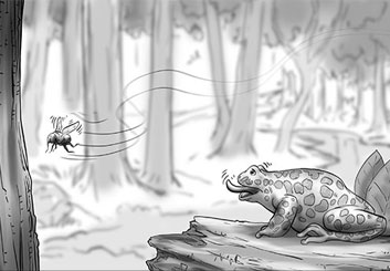 Paul Binkley's Wildlife / Animals storyboard art