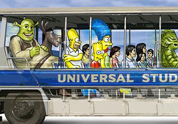 Paul Binkley's Characters / Creatures storyboard art