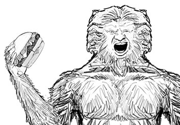 Paul Binkley's Characters / Creatures storyboard art