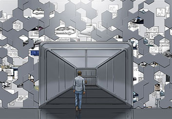 Paul Binkley's Conceptual Elements storyboard art