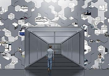 Paul Binkley's Conceptual Elements storyboard art