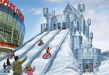 Paul Binkley's Events / Displays storyboard art