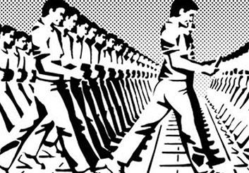 Paul Binkley's Graphics storyboard art