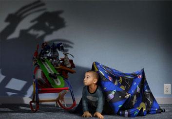 Paul Binkley's Photo Frames storyboard art
