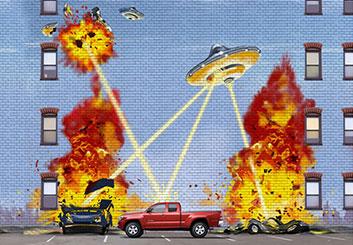 Paul Binkley's Sci-Fi storyboard art