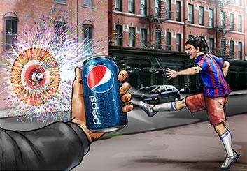 Paul Binkley's Sports storyboard art