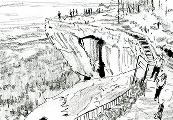 Phil Babb's Environments storyboard art